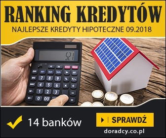 Ranking kredytów hipotecznych listopad 2018